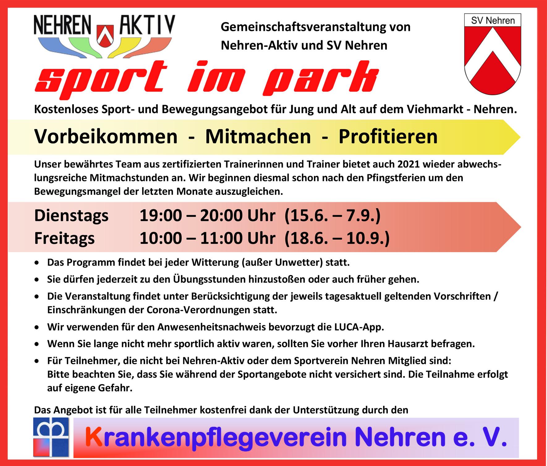 Sport-im-Park